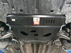 Защита двигателя Citroen DS5 - фото №3