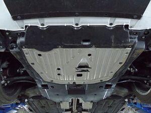 Защита двигателя Honda Civic 10 4D седан + купе - фото №5