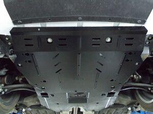 Защита двигателя Honda Civic 10 4D седан + купе - фото №4