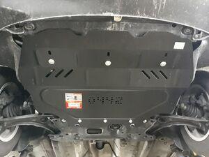 Защита двигателя Volkswagen Touran WeBasto - фото №5