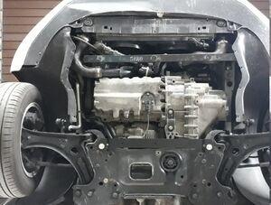 Защита двигателя Skoda Octavia A5 - фото №5