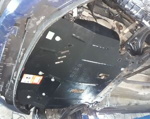 Защита двигателя Ford B-Max - фото №6