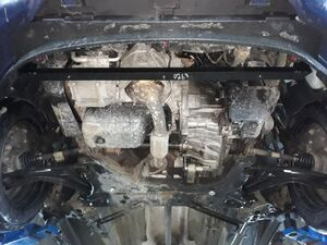 Защита двигателя Ford B-Max - фото №10