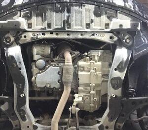Защита двигателя Opel Insignia B - фото №3