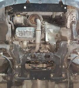 Защита двигателя Citroen Berlingo 1 рестайлинг - фото №4