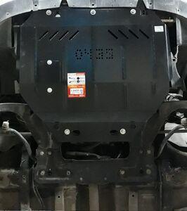 Защита двигателя Citroen Berlingo 1 рестайлинг - фото №3