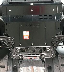 Защита двигателя Skoda Octavia A7 - фото №3