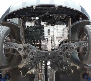 Защита двигателя Kia Sorento 3 - фото №5