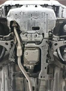 Защита двигателя Subaru Forester 4 SJ - фото №4