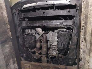 Защита двигателя Nissan Murano 3 (Z52) - фото №3