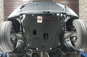 Защита двигателя Nissan Juke F15 - фото №5