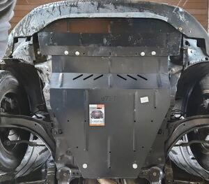 Защита двигателя Nissan Qashqai+2 - фото №5