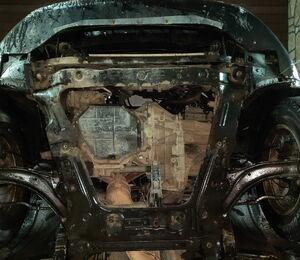 Защита двигателя Nissan Qashqai+2 - фото №4