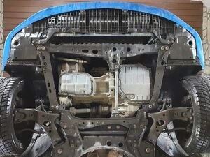 Защита двигателя Toyota Corolla E14 / E15 - фото №8