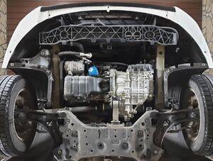 Защита двигателя Kia Optima 4 - фото №5