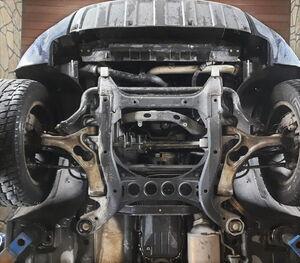 Захист двигуна Audi Q7 1 - фото №2