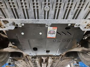 Защита двигателя Renault Scenic 3 - фото №4