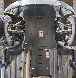 Захист двигуна BMW X3 F25 - фото №9