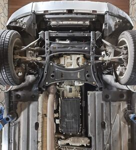 Захист двигуна BMW X3 F25 - фото №11