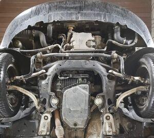 Защита двигателя Audi A4 B7 - фото №4