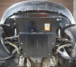 Защита двигателя Audi A4 B7 - фото №3