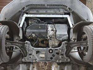 Защита двигателя Volkswagen Passat B7 - фото №20