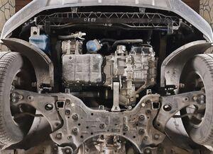 Защита двигателя Hyundai Santa Fe 4 - фото №3