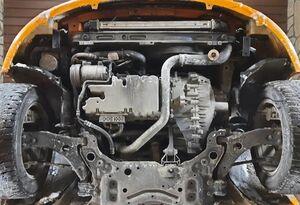 Защита двигателя Ford Focus 2 - фото №3