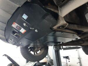 Защита двигателя Hyundai Santa Fe 2 - фото №4