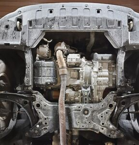 Защита двигателя Mitsubishi Outlander 3 - фото №9