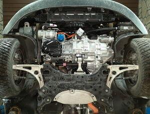 Защита двигателя Kia Niro Hybrid - фото №3