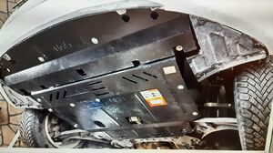 Защита двигателя Kia Forte 2 - фото №2