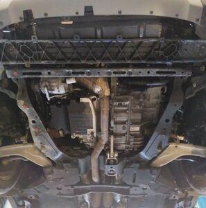 Защита двигателя Lincoln MKX 2 - фото №3