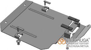 Защита двигателя Ford Kuga 2 - фото №6