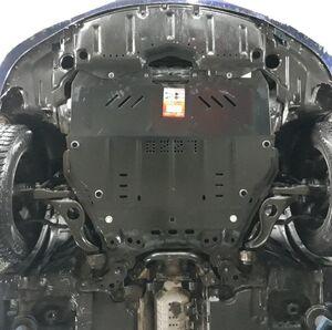 Защита двигателя Mazda 6 (2-ое поколение) - фото №7