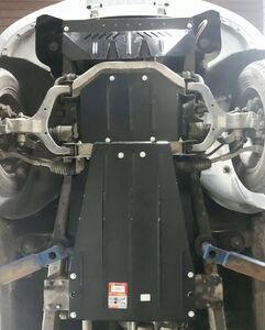 Защита двигателя Ssang Yong Kyron - фото №4
