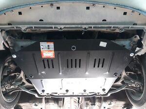 Защита двигателя Honda Civic 8 4D седан - фото №5