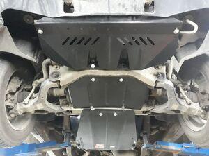 Защита двигателя Ssang Yong Kyron - фото №3