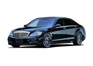 Захист двигуна Mercedes-Benz S-class W221 - фото №1