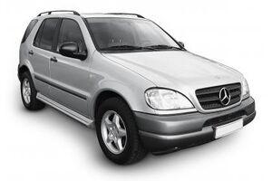 Защита двигателя Mercedes-Benz ML W163 - фото №1
