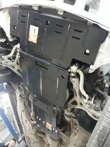 Защита двигателя Mercedes-Benz GL X164 - фото №3