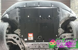 Защита двигателя BMW X1 F48 - фото №2