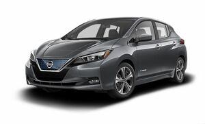 Защита двигателя Nissan Leaf 2 - фото №2