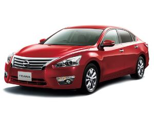 Защита двигателя Nissan Teana 3 - фото №1
