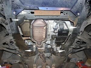 Защита двигателя Renault Scenic 1 - фото №5