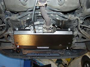 Защита двигателя Renault Scenic 1 - фото №3