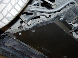 Защита двигателя Renault Scenic 1 - фото №2