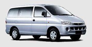 Защита двигателя Hyundai H1 (Starex) - фото №1
