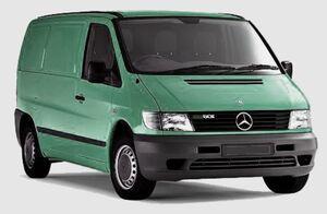 Защита двигателя Mercedes-Benz Vito W638 - фото №1
