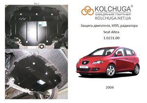 Защита двигателя Seat Altea - фото №1